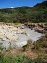 Sulfur pools at Rincon, Costa Rica Royalty Free Stock Photography