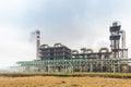 Sulfuric acid plant Royalty Free Stock Photo