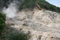Sulphur springs soufriere sainte lucie Photos stock