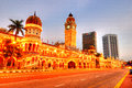 Sultan Abdul Samad Royalty Free Stock Photos