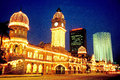 Sultan Abdul Samad Building Stock Photos