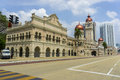 Sultan abdul samad building is historical in malaysia Stock Images