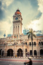 Sultan abdul samad building in malaysia Royalty Free Stock Photos