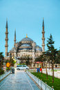 Sultan ahmed mosque blauwe moskee in istanboel Stock Foto's