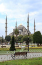 Sultan ahmed mosque blue mosque Royalty Free Stock Photos