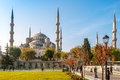 Sultan ahmed mosque blue mosque istanbul Royalty Free Stock Photo