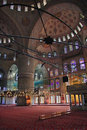 The Sultan Ahmed Mosque - Blue Mosque of Istanbul Stock Image
