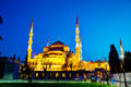 Sultan ahmed mosque blue mosque in istanbul april with tourists on april the is popularly known as the Stock Photos