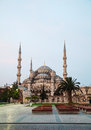 Sultan ahmed mosque blue mosque in istanbul the morning Royalty Free Stock Image