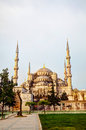 Sultan ahmed mosque blue mosque in istanbul the morning Stock Images