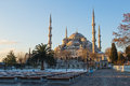 Sultan Ahmed Mosque (Blue Mosque) in Istanbul, Turkey Royalty Free Stock Photo