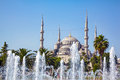 Sultan Ahmed Mosque (Blue Mosque), Istanbul Royalty Free Stock Photo
