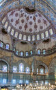 Sultan ahmed mosque istanbul inside view the known as the blue is an historic in it was built from to Stock Photo