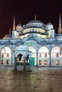 Sultan ahmed mosque istanbul the known as the blue is an historic in it was built from to Royalty Free Stock Photo