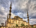 Sultan Ahmet Mosque (Blue Mosque) in Istanbul Royalty Free Stock Photo