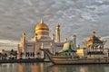 Sultan Omar Ali Saifuddin Mosque, Brunei Darussalam Royalty Free Stock Photo