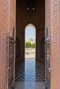 Sultan Qaboos Mosque Stock Photo