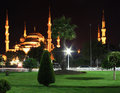 Sultanahmet (Blue) Mosque Royalty Free Stock Photography