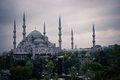 Sultanahmet Blue Mosque Royalty Free Stock Photo