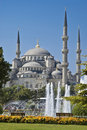 Sultanahmet Mosque at Istanbul Royalty Free Stock Photos