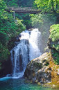 Sum Waterfall,Bled,julian alps,slovenia Stock Photo