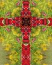 Sumac cross Royalty Free Stock Images