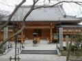 Sumadera temple, Kobe, Japan Royalty Free Stock Photo