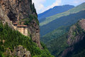 Sumela Monastery Stock Photo