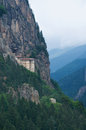 Sumela monastery near trabzon turkey Stock Image