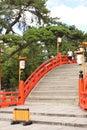 Sumiyoshi shrine osaka s most famous by far is sumiyoshitaisha grand the headquarters of some shrines throughout Royalty Free Stock Photography
