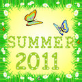 Summer 2011 Royalty Free Stock Images