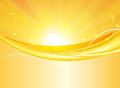 Summer abstract picture bright yellow background Royalty Free Stock Photo