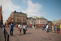 Summer afternoon in Stockholm, Sweden Royalty Free Stock Images