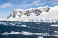 Summer in antarctica antarctic peninsula palmer archipelago neumayer channel global warming Royalty Free Stock Photo