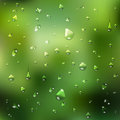 Summer background water drops abstract Royalty Free Stock Images