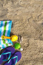 Summer beach holiday Royalty Free Stock Photography