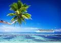 Summer beach paradise travel destination concept Stock Photos
