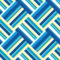 Summer beach stripe vector seamless pattern. Royalty Free Stock Photo