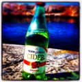 Summer beer nice supa Stock Image