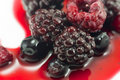 Summer Berry Fruits Closeup Royalty Free Stock Images