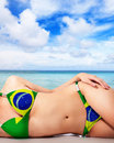 Summer in brazil Royalty Free Stock Photo