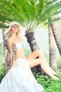 Summer bride Stock Image
