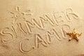 Summer camp Royalty Free Stock Photo