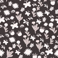 Summer cartoon seamless pattern