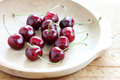 Summer cherries Royalty Free Stock Photography