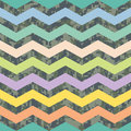 Summer Chevron on Fall Camo Background Pattern Stock Photography