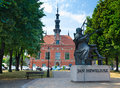 Summer city square in Gdansk Stock Photography