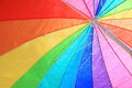 Summer colors the of a summe umbrella Stock Images