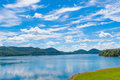 Summer day on lake. Royalty Free Stock Photo