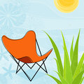Summer Days (Vector) Stock Image